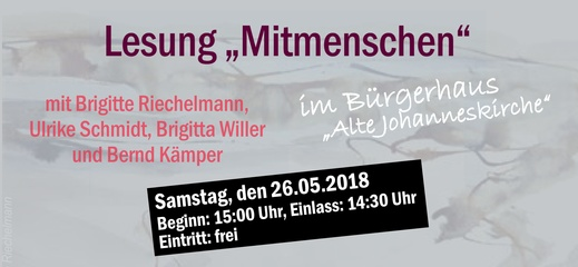 Autorenkreis-Lesung im Bürgerhaus Gevelsberg