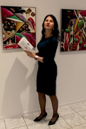 Velina van der Gaag im Kunstraum3