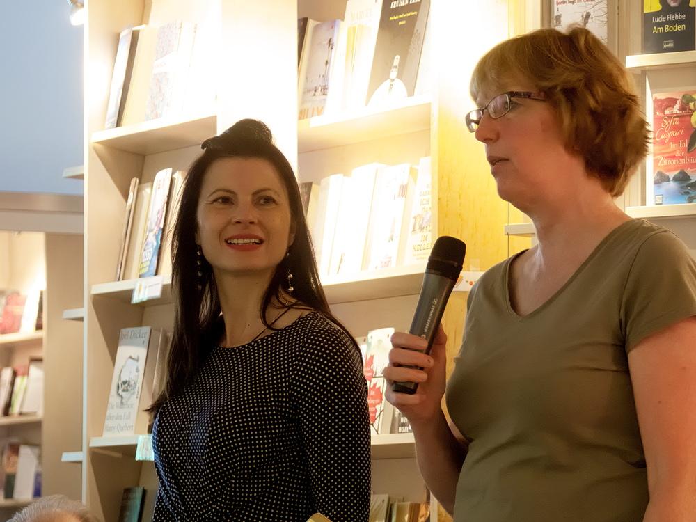 Velina van der Gaag und Andrea Reichart