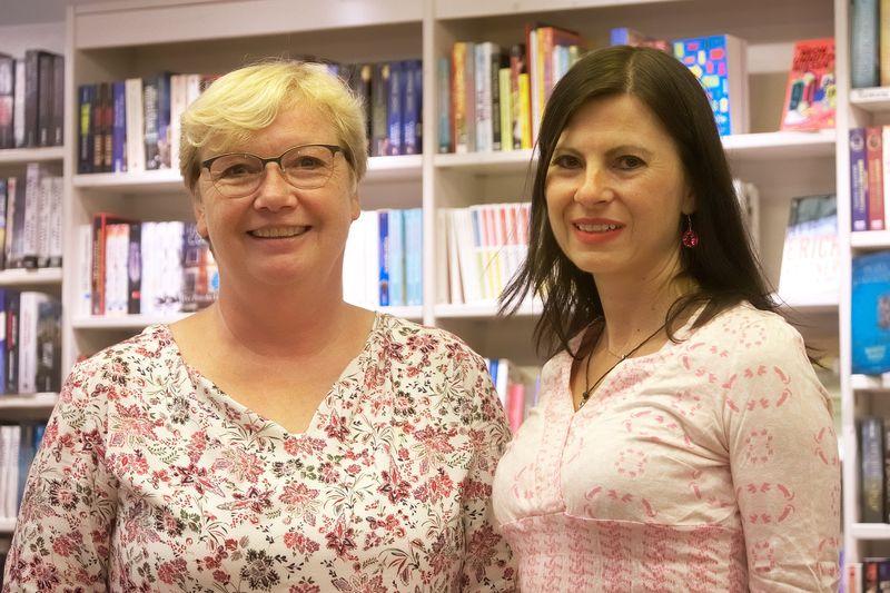 Susanne Schumacher und Velina van der Gaag