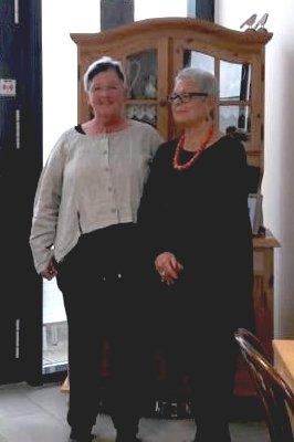 Annette Gonserowski und Heidi Holz
