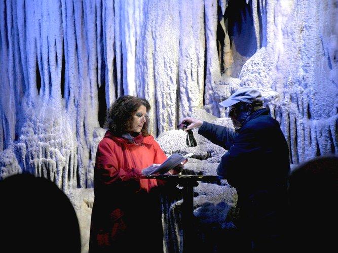 Zu Gast in der Dechenhöhle - Brigitte Riechelmann
