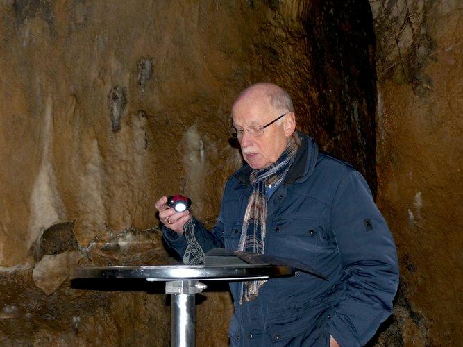 Zu Gast in der Dechenhöhle - Wilfried Diener