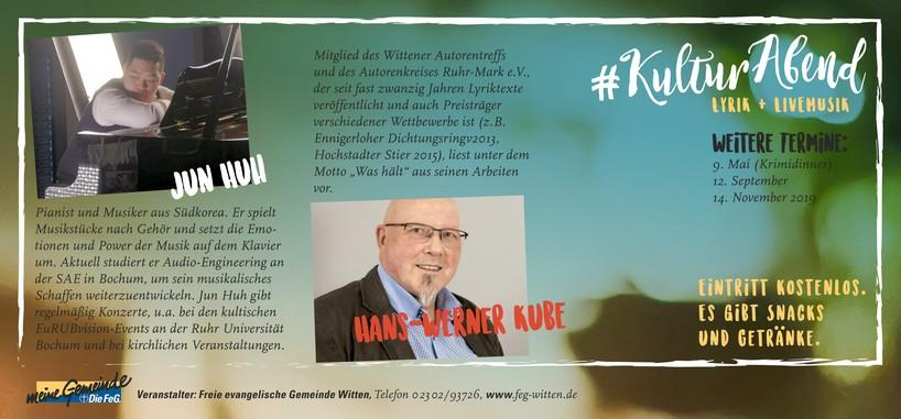 Kulturabend-Hans-Werner-Kube-Jun-Huh