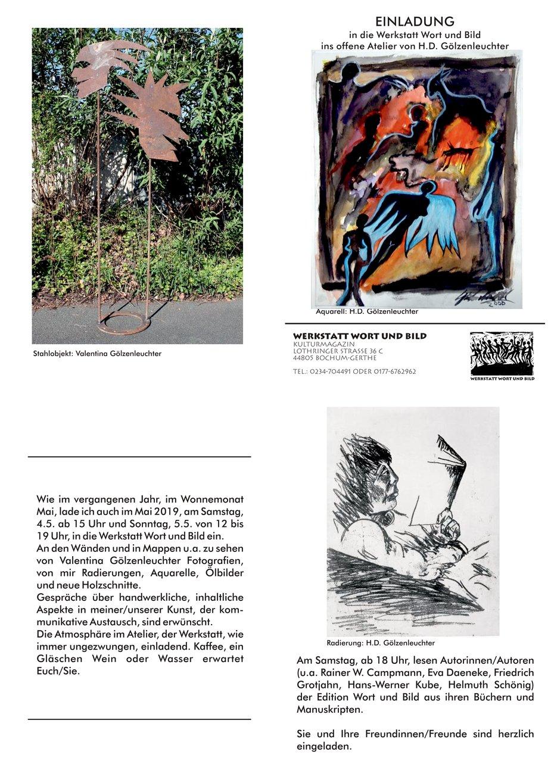 Werkstatt Wort und Bild - Hans-Werner Kube
