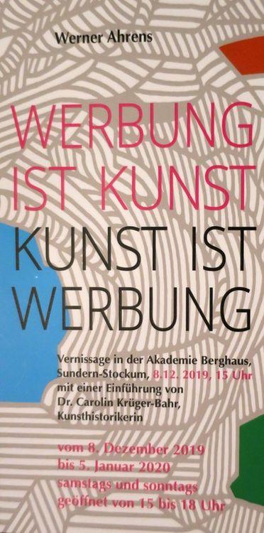 Werner Ahrens - Vernissage