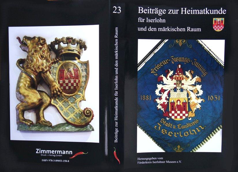 Beiträge zur Heimatkunde Iserlohn Band 23