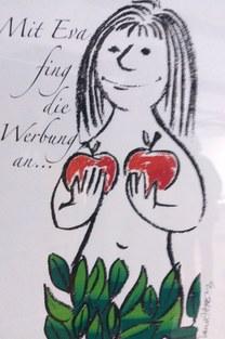 Werner Ahrens - Eva und die Werbung