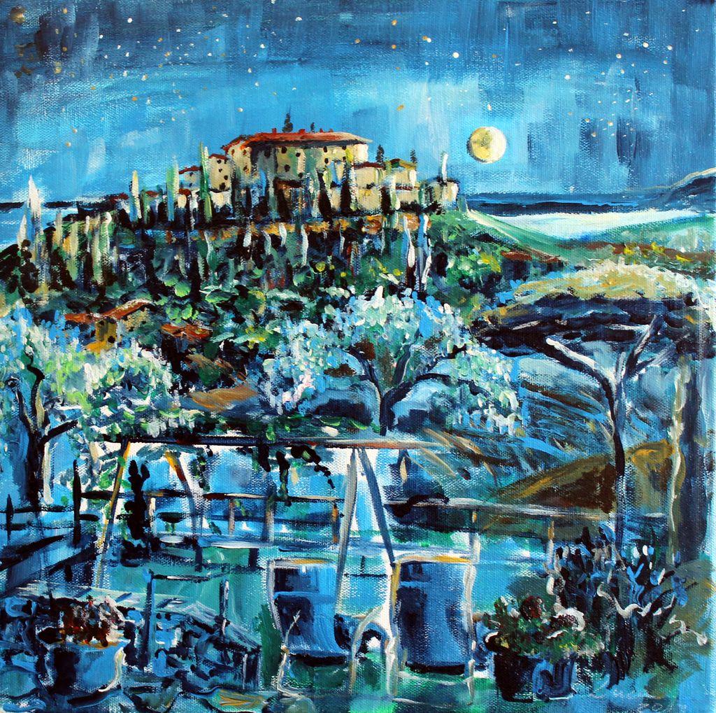 Kranendonk - Nacht über der Toscana