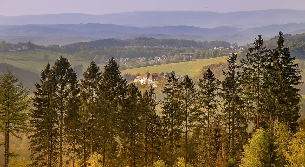 Landschaftsbild-Sauerland