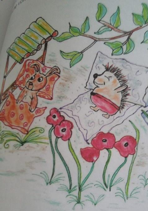 Nüsse für den Winter - Illustration Ulrike Schmidt