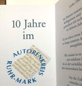 Susanne Michaelis - 10 Jahre im AK