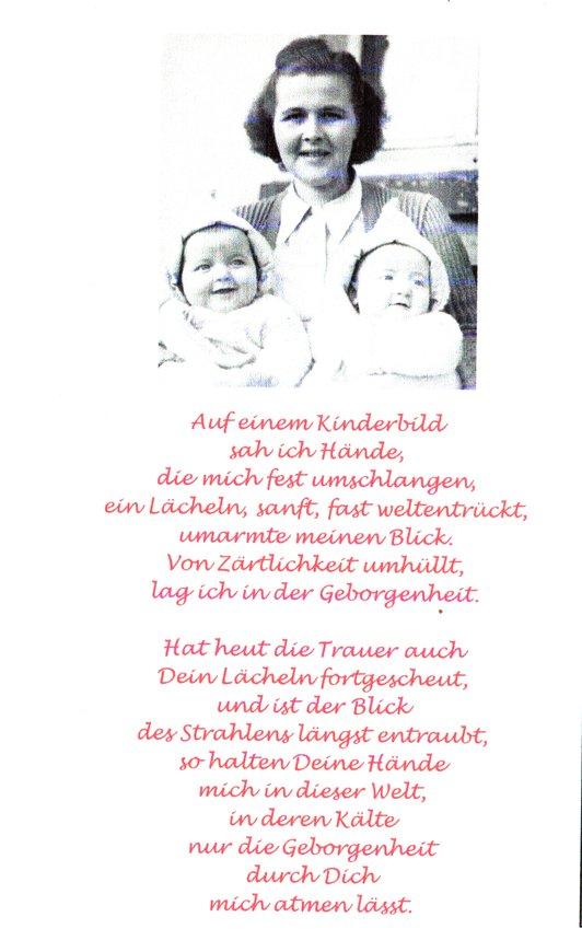 Annette Gonserowski - Kinderbild und Gedicht